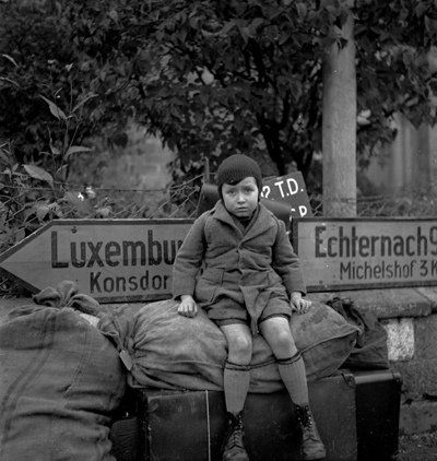 Refugee boy. © Lee Miller Archives, England 2008. All rights reserved.